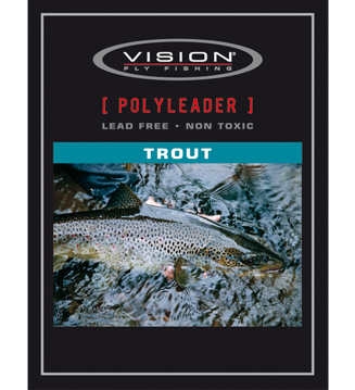 Polyleader Trout Vision float intermediate fast sink