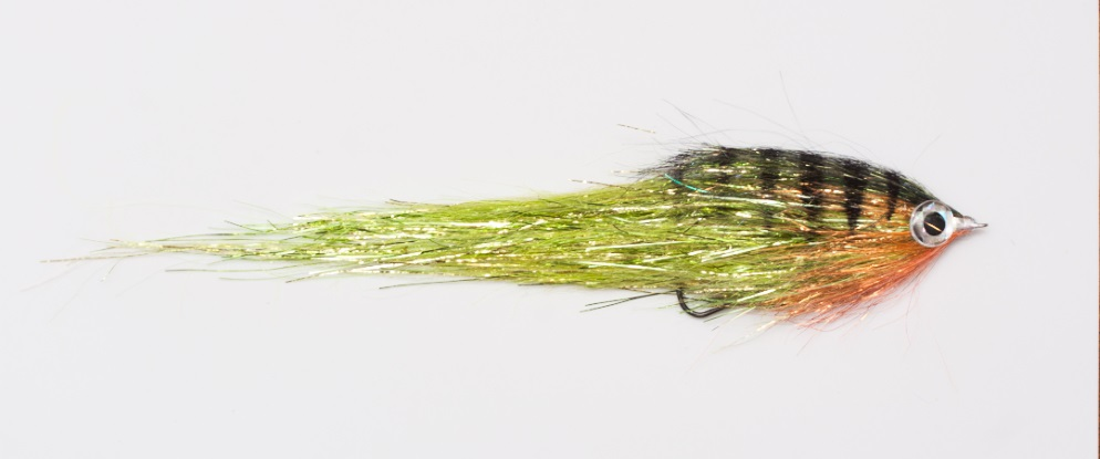 Mucha na szczupaki duży streamer Pike terror flies flash PE okon