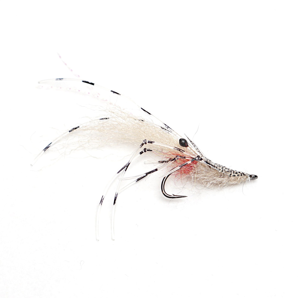 Realistic Leo Shrimp fly pattern  troć łosoś belona dorsz czerniak