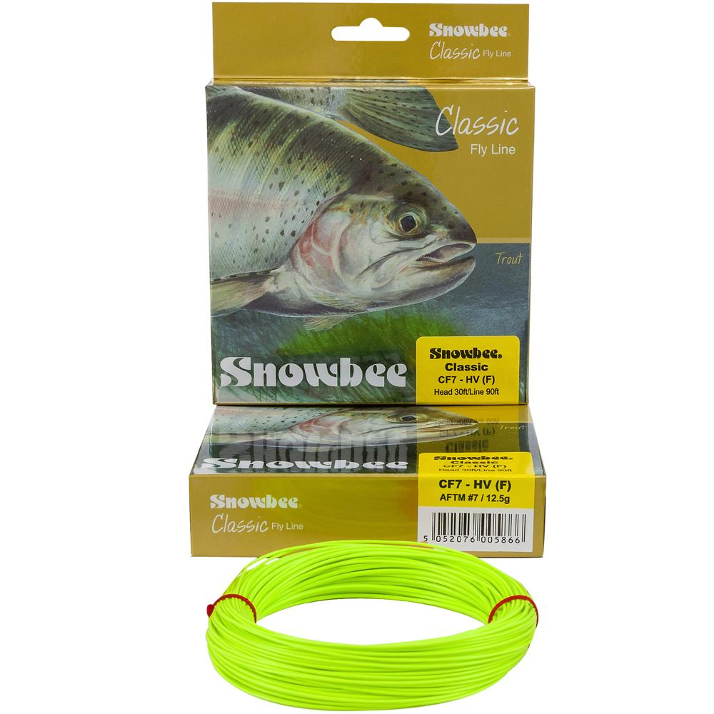 Sznur muchowy Snowbee Classic Fly Line - Floating Chartreuse
