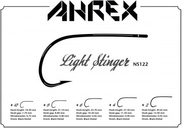 NS122 Light Stinger Ahrex haki muchowe