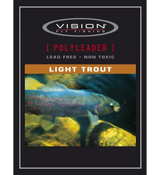 Polyleader Light trout Vision floating, intermediate, slow sinking, fast sinking, super fast sinking