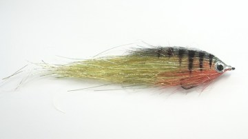 Mucha na szczupaki duży streamer Pike terror flies PE okon flash