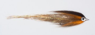 Mucha szczupakowa Pike Terror Flies  BCK Articulated na szczupaki snow runner flash