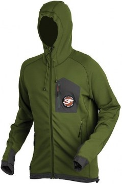 Kurtka flisowa Scierra Breeze Zip Fleece Jacket Cactus Green na ryby flyartfishing