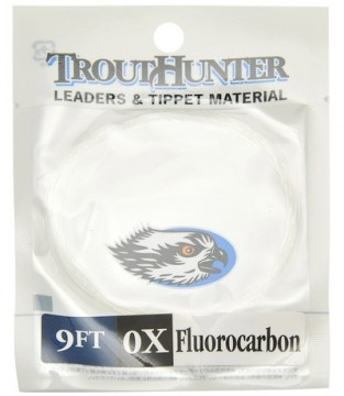 TroutHunter Fluorocarbon Leader 9ft przypon koniczny